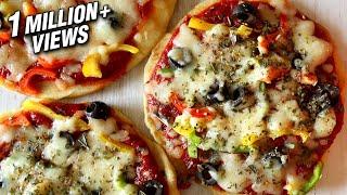 How To Make Pizza On Pan Or Tawa | No Oven – No Yeast Pizza Recipe | Anushruti | Rajshri Food
