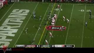 Ameer Abdullah vs Michigan State (2014)