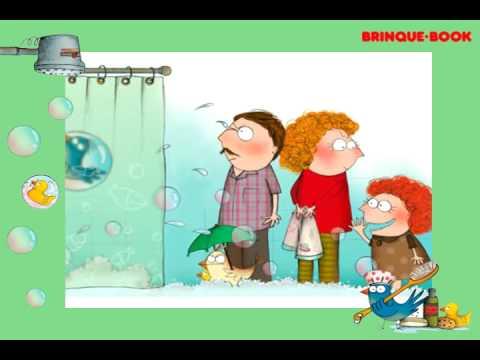 Gabriel Já para o banho - Editora Brinque Book