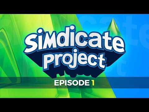 The Simdicate Project - Episode 1 - Live w/Syndicate (видео)