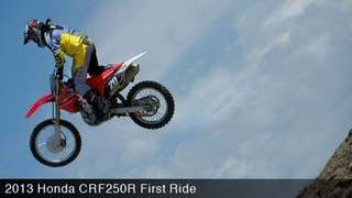 6. MotoUSA First Ride:  2013 Honda CRF250R