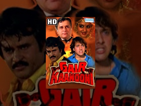 Gair Kaanooni {HD} Hindi Full Movies - Govinda, Sridevi, Rajinikanth - Hit Film - With Eng Subtitles