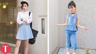 Try out ThePremium Network for free https://goo.gl/m2cbAJ10 Awesome girl fashion trends you didn't know come from South Korea.Subscribe: https://goo.gl/Hnoaw3-----------------------------------------------------------------------------------------The world is getting smaller and smaller, and that means just like we influence the rest of the world, they also have an impact on us. We know this because many of the things you see on fashion runways today were ripped from the streets of Korea. From fishnets and ripped jeans to socks with sandals, these are ten popular fashion trends that come from Korea.-----------------------------------------------------------------------------------------Our Social Media:Facebook: https://www.facebook.com/TheTalkoTwitter: https://twitter.com/thetalkoInstagram: https://instagram.com/the_talko-----------------------------------------------------------------------------------------For more videos and articles visit:http://www.thetalko.com/