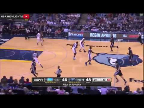 Golden State Warriors Vs Memphis Grizzlies   Full Game Highlights   April 9, 2016   NBA