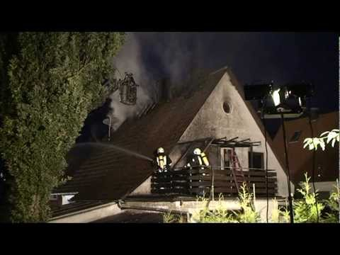 Korbach: Wohnhaus steht in Vollbrand