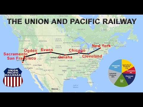 Union Pacific Railway Explained | Route, Map, Cities, Economic Significance
