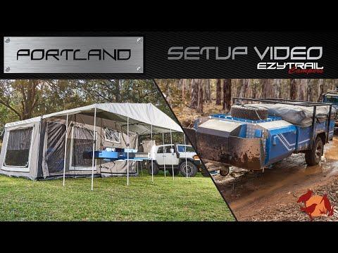 Ezytrail Campers Portland LX Setup Guide