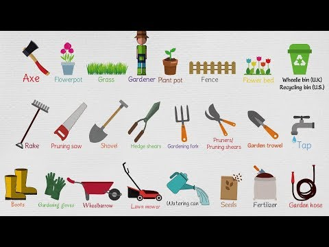 Gardening Tools Names | List of Garden Tools in English with Useful Pictures