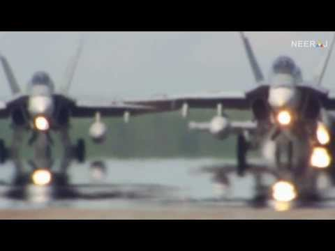 List of planes used in video.  F-18...
