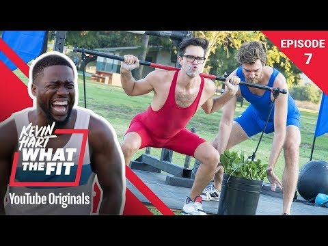 Strongman Competition w/ Rhett & Link  Kevin Hart: What The Fit Episode 7  Laugh Out Loud Network