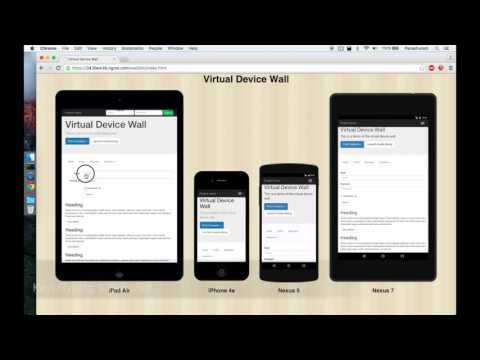 Virtual Device Wall - Youtube Video Link