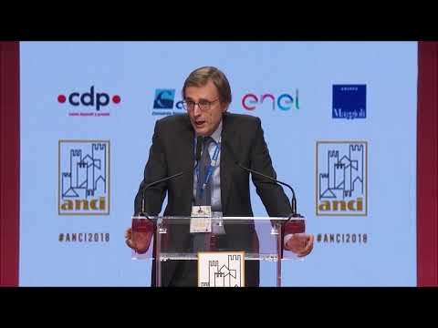 L'intervento del Presidente di CDP Massimo Tononi ad Anci 2018