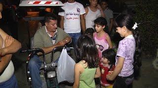 فوانيس رمضان هدايا الأطفال من المسحراتي وليد أبو سفاقة