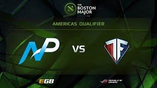 Team NP vs Freedom, Boston Major AM Qualifiers
