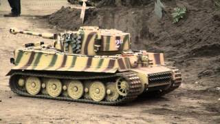 Awesome! Huge Rc Tanks With Sound (Part3)