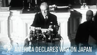 Franklin (IN) United States  city photos : America Declares War on Japan - President Roosevelt Speech
