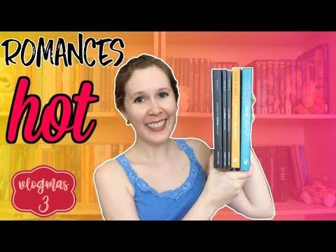 12 DIAS DE VLOGMAS #3 Romances quentes | Leituras de Deni