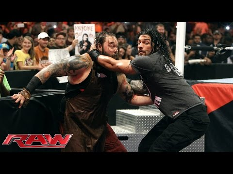 Dean Ambrose Vs. Bray Wyatt: Raw, July 13, 2015