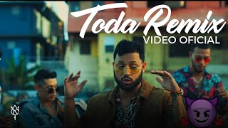 Alex Rose  Toda Remix Ft. Cazzu Lenny Tavarez Lyanno  Rauw Alejandro Video Oficial