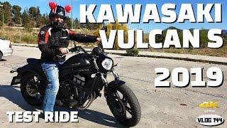 7. Kawasaki Vulcan S (2019) 35 kW - Test Ride - VLOG144 [4K]