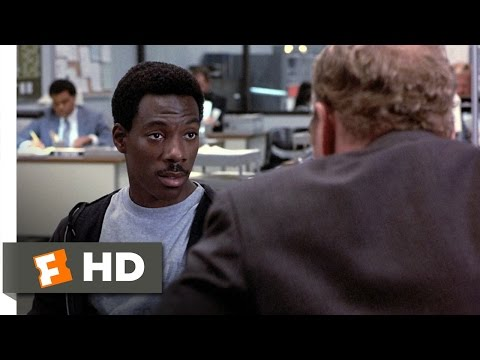 Beverly Hills Cop (4/10) Movie CLIP - Foul-Mouthed? (1984) HD