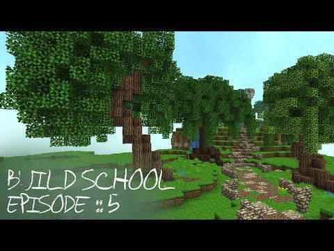 Minecraft Tutorials :: Build School :: Episode 5 :: Custom Trees