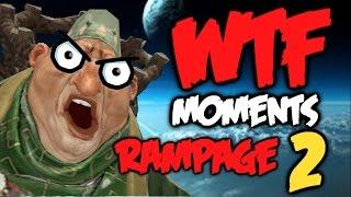 Dota 2 WTF Rampage Compilation 2