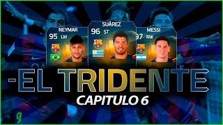 FIFA 15 | EL TRIDENTE | NEYMAR - SUAREZ - MESSI | #6, neymar, neymar Barcelona,  Barcelona, chung ket cup c1, Barcelona juventus