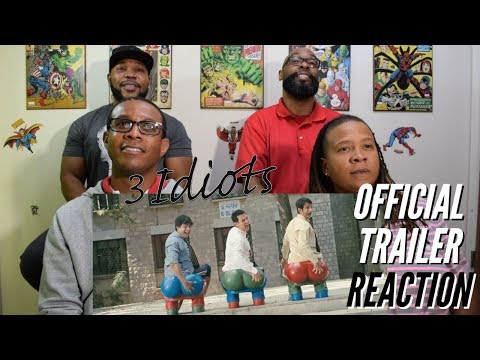 3 Idiots Official Trailer Reaction