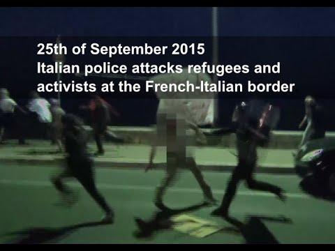 Ventimiglia, i no borders bloccano la frontiera
