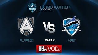 Vega vs Alliance, game 2