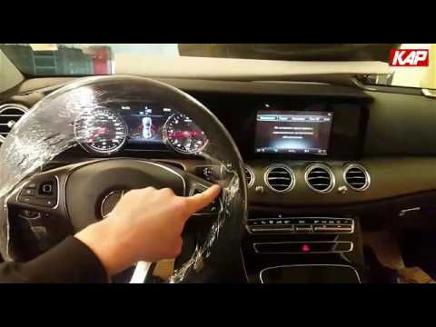 "BENZ E-CLASS (W213) TOUCH Control (8.4"")"