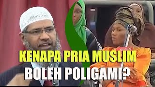 Video If Eve Is Created Only For Adam, Why Are Muslims Can Marry More Than One Woman? | Dr. Zakir Naik MP3, 3GP, MP4, WEBM, AVI, FLV September 2019