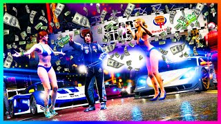 GTA 5 DLC How To Make $300,000 OR MORE Per Hour In GTA Online w/ NEW 2x Money Stunt Races! ►Cheap GTA 5 Shark Cards & More Games: www.g2a.com/r/mrbossftw ►Fi...