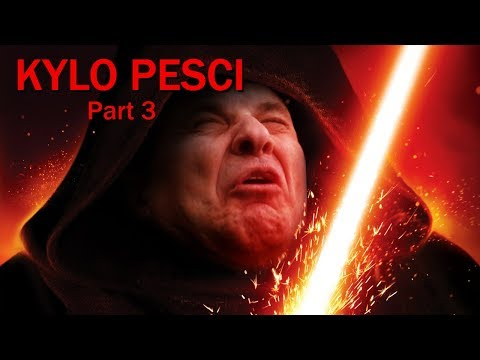 Kylo Pesci (3/3) - Kylo Ren Voiced by Joe Pesci (видео)