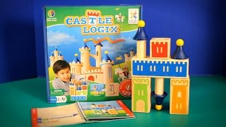 Let's build Castles!  Learn to build with blocks and have lots of fun.  Construct castles, block by block and tower by tower, as you flex your logic muscles with nicely made 3-D wooden puzzles.This is the perfect puzzle game for toddlers and young children wanting to develop logical and strategic skills.This toy is suitable for toddlers and young kids.  It is a very good learning and fun toy.This toy is made by Smart Games.  Music By Kevin Macleod (Hyperfun)