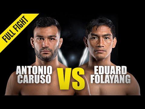 Antonio Caruso vs. Eduard Folayang | ONE Championship Full Fight