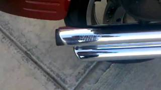 4. Vance and Hines Big Shots on 2003 Honda VTX 1800 R