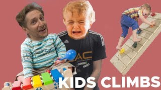 We can't do CLIMBS set for KIDS! by Bouldering Bobat