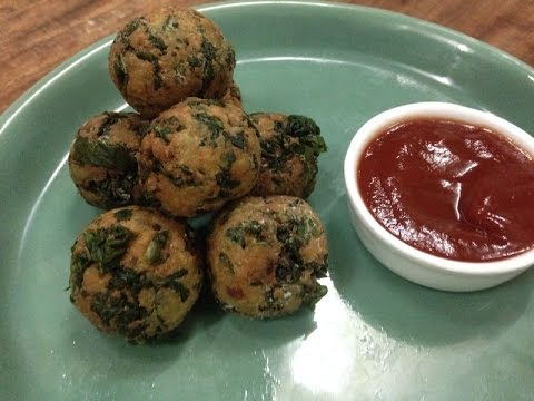 Paneer Palak and Cheese Balls | Monsoon Special Recipes | Sanjeev Kapoor Khazana