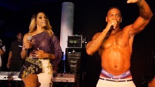 """Love and Hip Hop"" Joseline Hernandez and Stevie J Live performance"