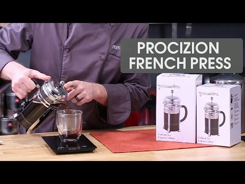 Review: Procizion French Press Coffee Maker + TIPS how to make great coffee!