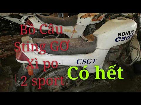 Bãi xe cũ có Xipo- Stinger- Bồ câu CSGT- 2 sport- Exciter |Ngố Nguyễn - Thời lượng: 10:13.