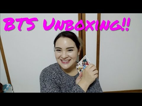 UNBOXING - BTS Mic Drop / DNA / Crystal Snow
