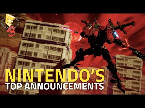 Nintendo's Top E3 2018 Switch Announcements