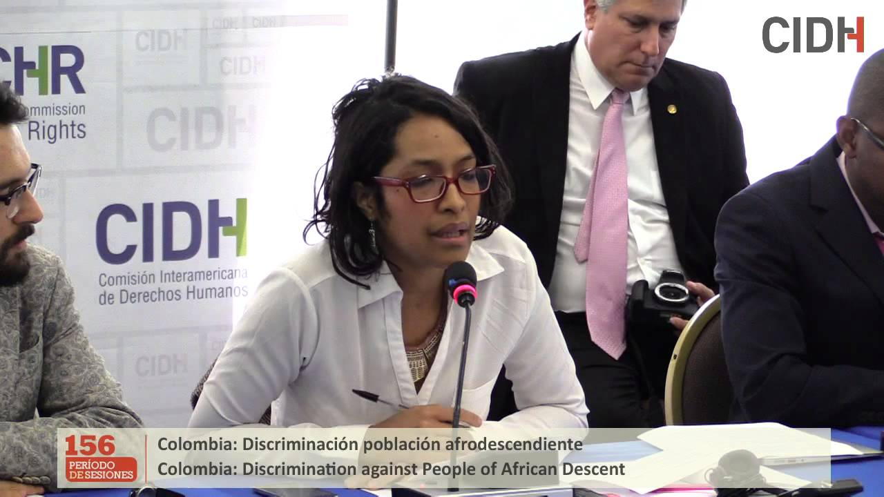 Denuncias sobre discriminaci�n contra la poblaci�n afrodescendiente en Colombia