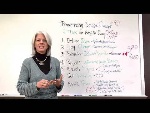 How to Prevent Scope Creep on Projects Video