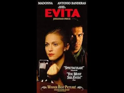 Opening to Evita 1997 VHS [Hollywood Pictures]