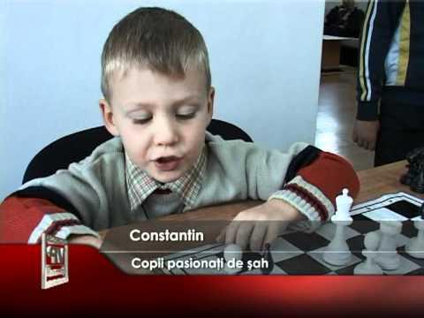 Copii pasionaţi de şah