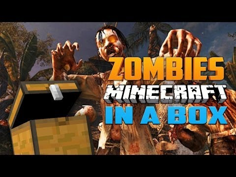 MINECRAFT IN A BOX ★ Call of Duty Zombies (Zombie Games)